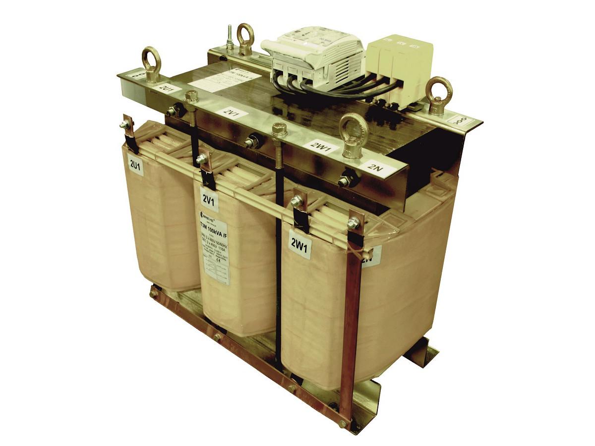 Transformatory trójfazowe, 1-komorowe, rdzeń standardowy T3M