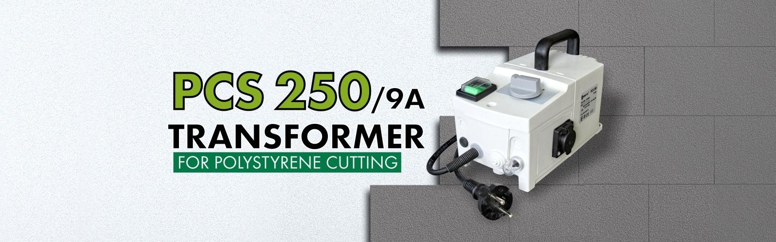 transformer for polystyrene cutting