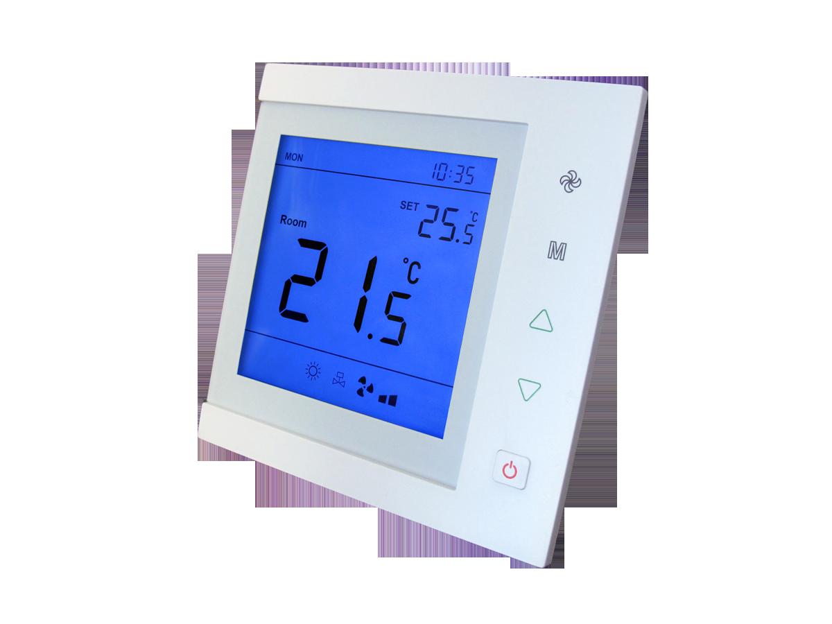 termostat do sterowania nagrzewnicami trójbiegowymi