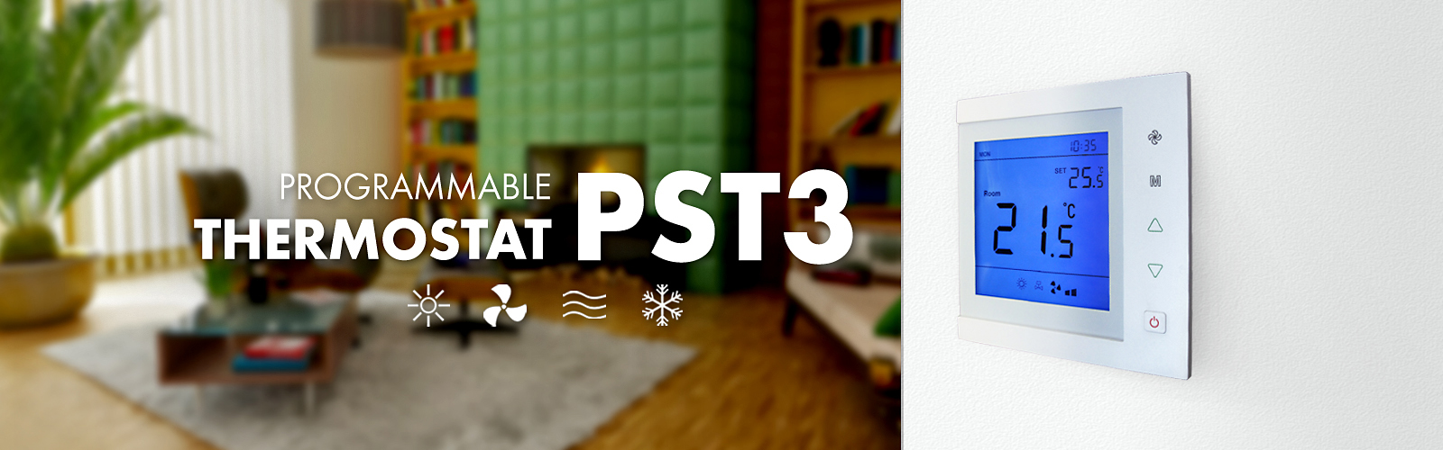 PST3 - programmable thermostat