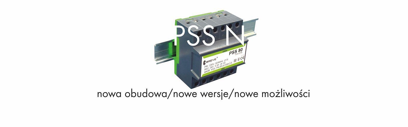 transformator na szynę DIN PSS N