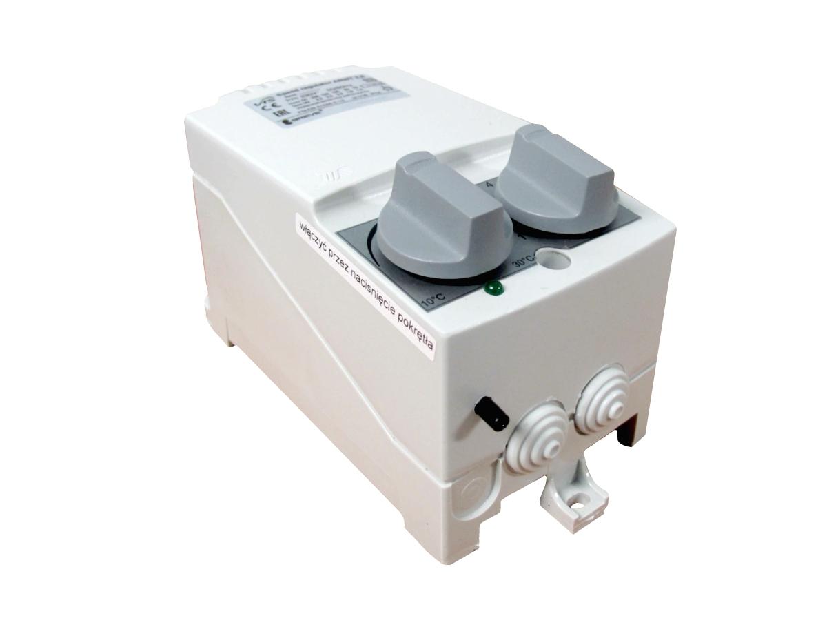 ARWT fan speed regulator with temperature sensor for HVAC