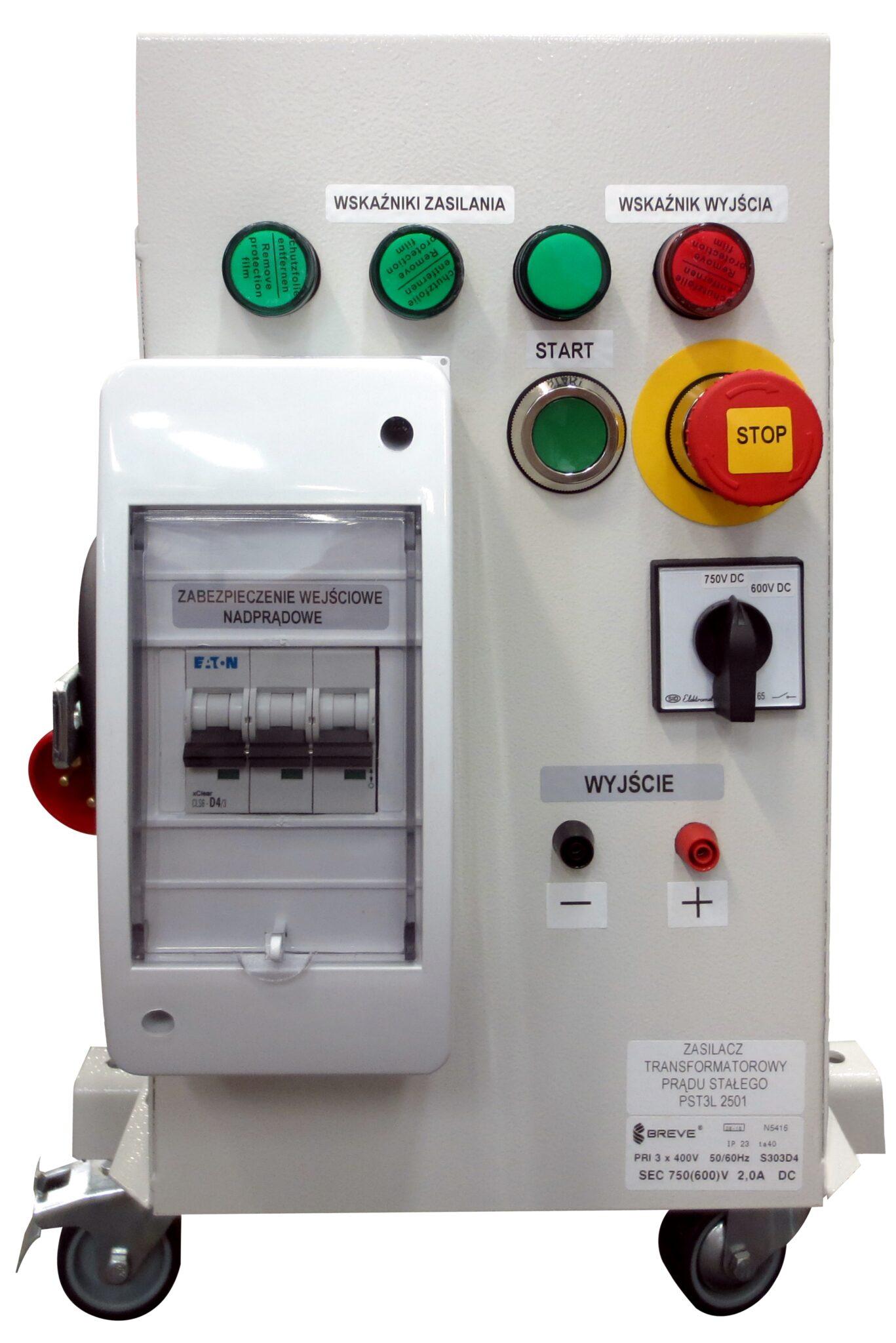 PST3L transformatorowy prostownik z automatyką mocującą - nietypowe realizacje Breve
