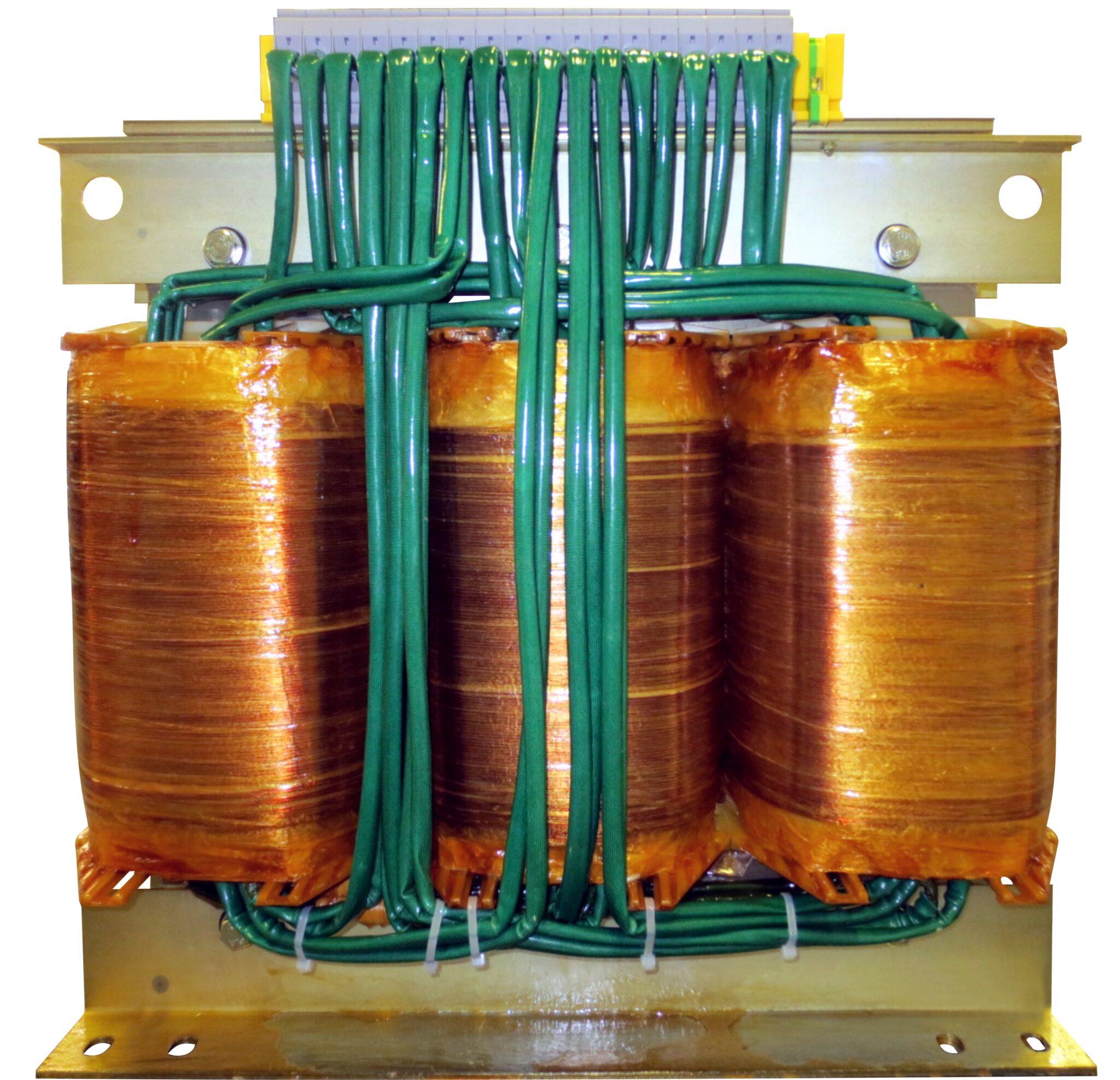 T3M 3x400V 3x1410-2960V transformator foliowy