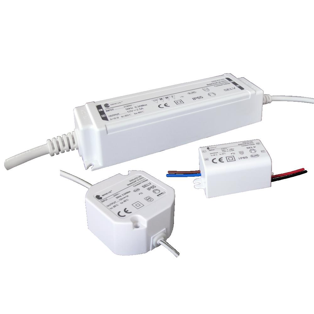 Zasilacze impulsowe do oświetlenia LED IP65