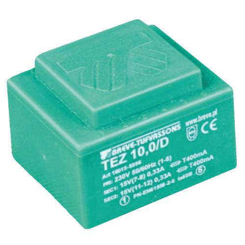 TEZ  10,0/D 230/10,5-10,5V