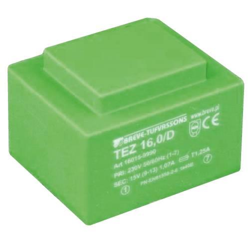 TEZ  16,0/D 230/ 7,5-7,5V