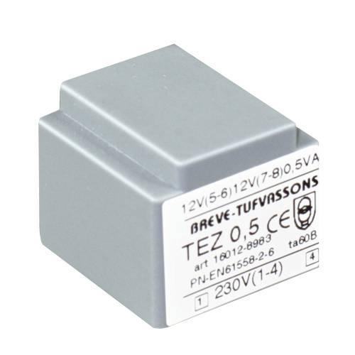 TEZ   0,5/D 230/ 7,5-7,5V