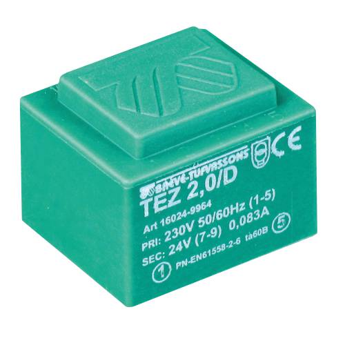 TEZ   2,0/D 230/10,5-10,5V