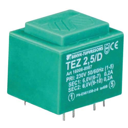 TEZ   2,5/D 230/ 6- 6V
