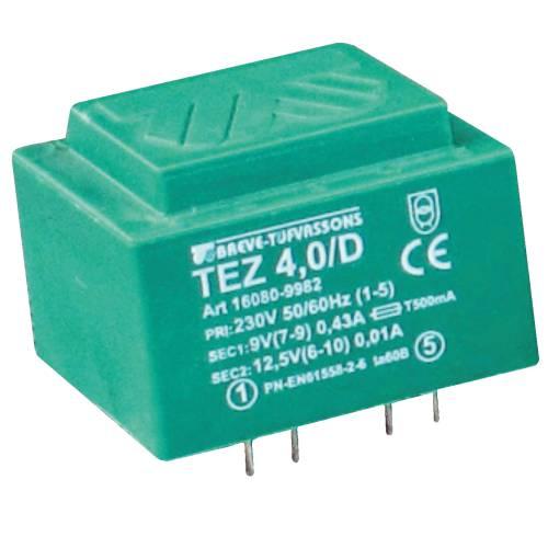TEZ   4,0/D 230/ 7,5-7,5V