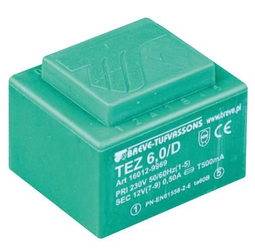 TEZ   6,0/D 230/10,5-10,5V